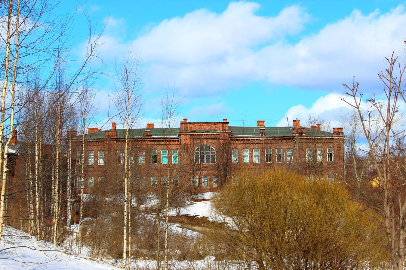 3 апреля 2013 года. Петрозаводск. Здание учительской семинарии