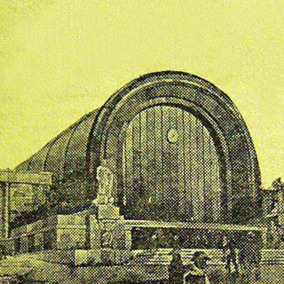 1935. Project of a new railway station in Petrozavodsk