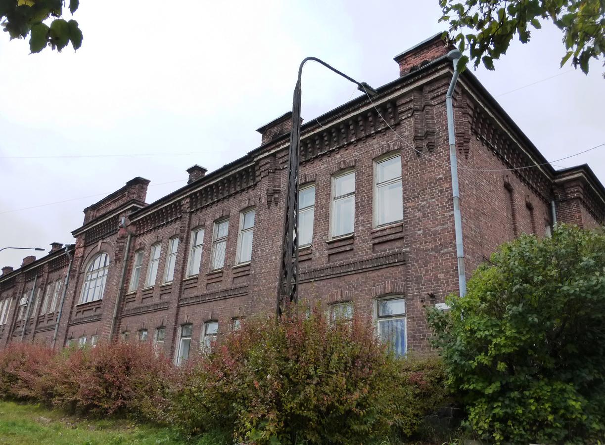 11 октября 2015 года. Петрозаводск. Здание учительской семинарии