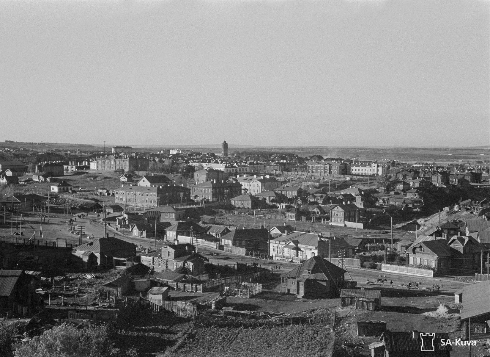 1 октября 1941 года. Петрозаводск. Здание учительской семинарии