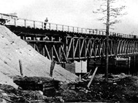 1915. Onda River Railway bridge