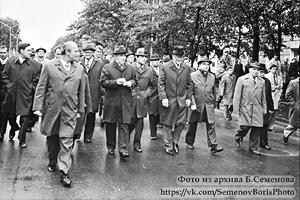 16 сентября 1978 года. Президент Финляндии Урхо Калева Кекконен и Председатель Совета министров СССР Алексей Косыгин