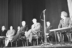 16 сентября 1978 года. Президент Финляндии Урхо Калева Кекконен и Председатель Совета министров СССР Алексей Косыгин в Финском драматическом театре