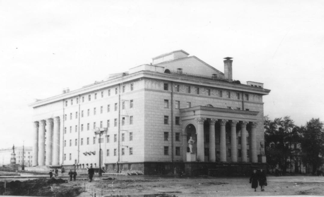 1956. Petrozavodsk. Musical-Dramatic Theatre