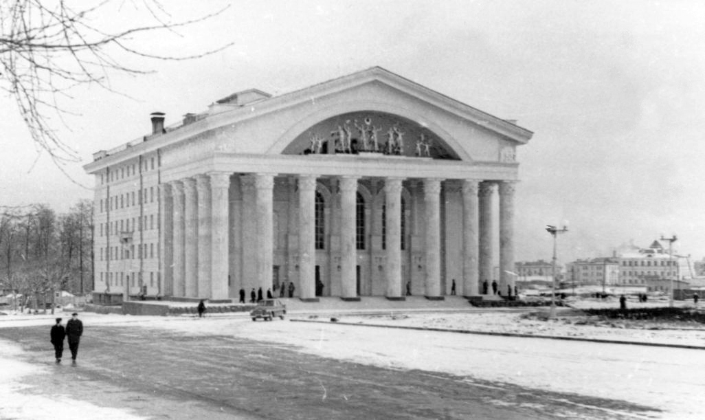 1955. Petrozavodsk. Musical-Dramatic Theatre