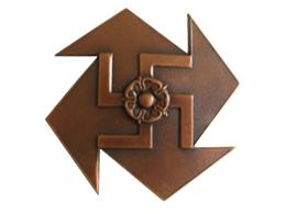 1942. Badge of the Marttina long-range reconnaissance patrol