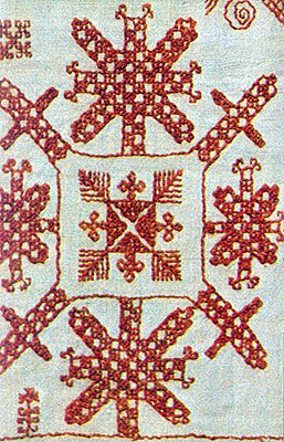 Veps embroidery