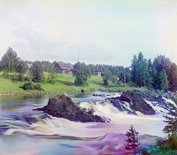1915. Kivatch Waterfalls