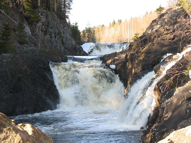 April 29, 2006. Kivatch Waterfalls