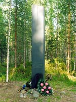 Kollasj&auml;rvi. The memorial to Finnish warriors of 1939-1940