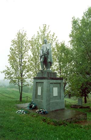 2002. Pogrankondushi. Memorial to the Soviet soldiers