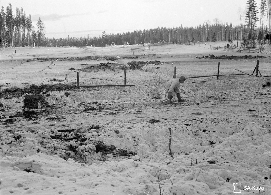 December 17, 1939. Finnish soldiers in Kollaa Front