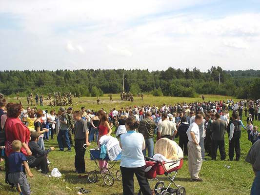 August 7, 2005. Pogrankondushi. Festival, the 2005