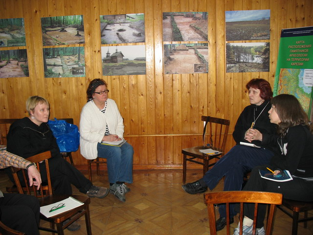 June 11, 2006. Medvezhegorsk. Presentation of a Salpa museum