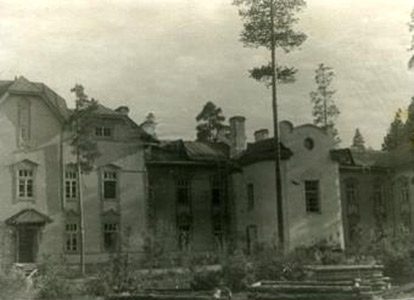 July 1944. Medvezhegorsk. Health Resort