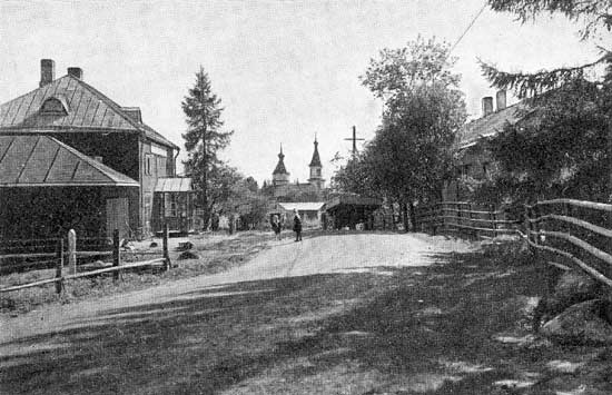 1930's. Kirkonkylä