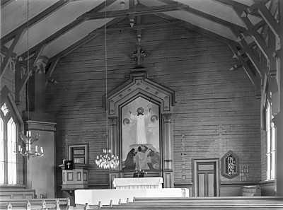 1927 год. Лютеранская церковь