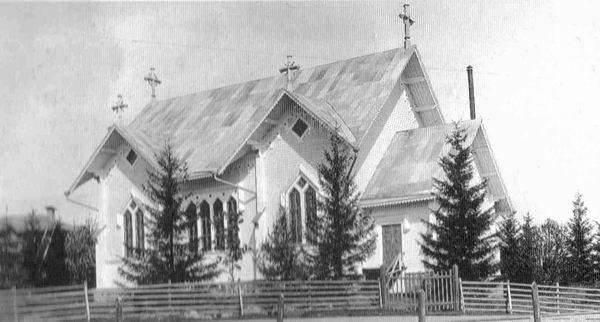 1920-е годы. Лютеранская церковь