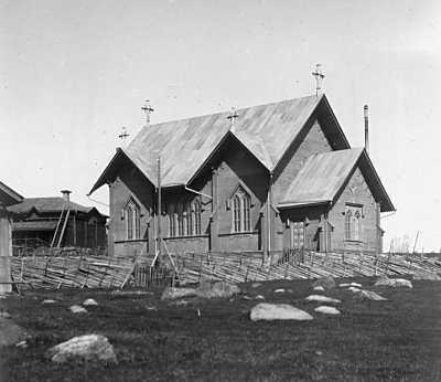 1920's. Lutheran church