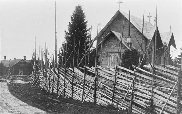 1928 год. Лютеранская церковь