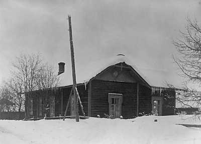 1927. Kirkonkylä. The Priest House