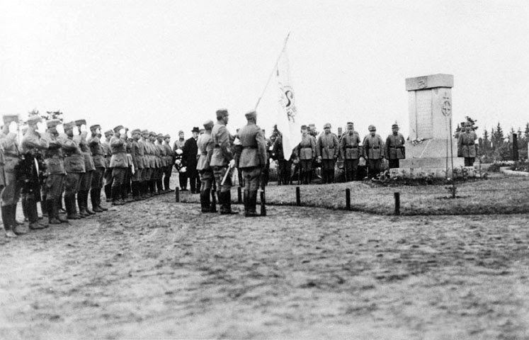 July 3, 1921. Opening of the Monument to the Fallen in the Battle of Polovina