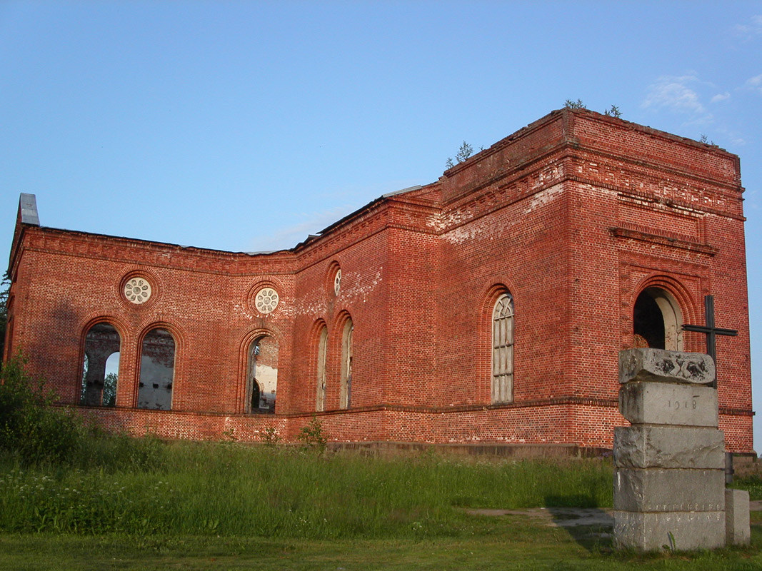 July 11, 2007. Ruins of the church