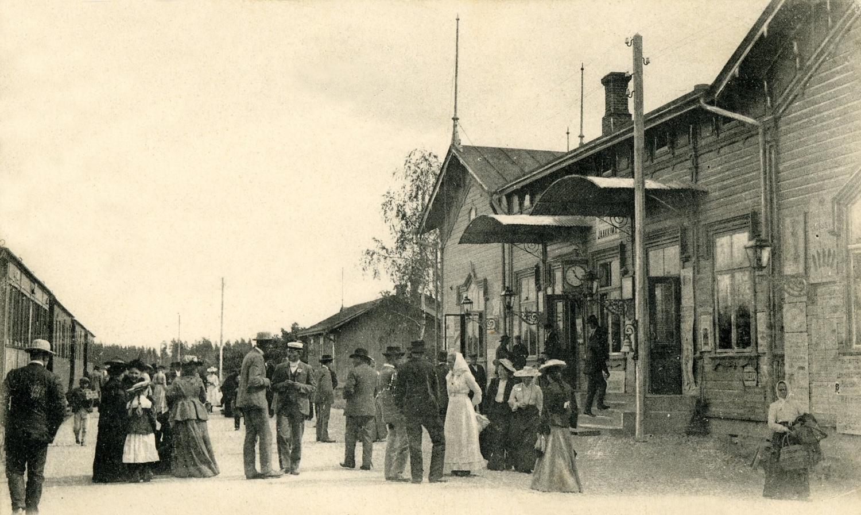 1900-luvun. Jaakkiman asema