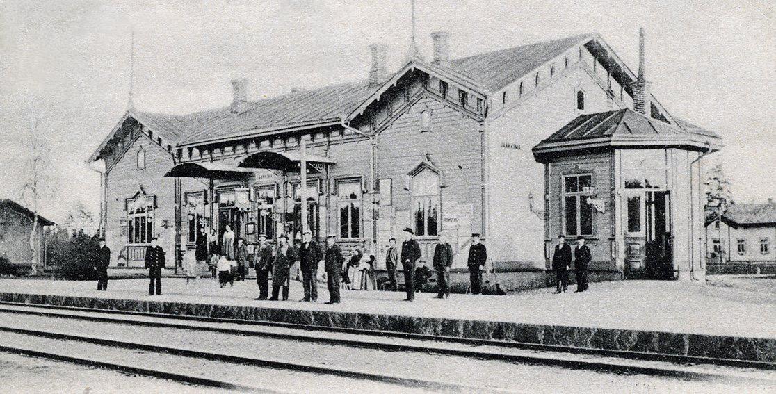 10. kesäkuuta 1904. Jaakkiman asema