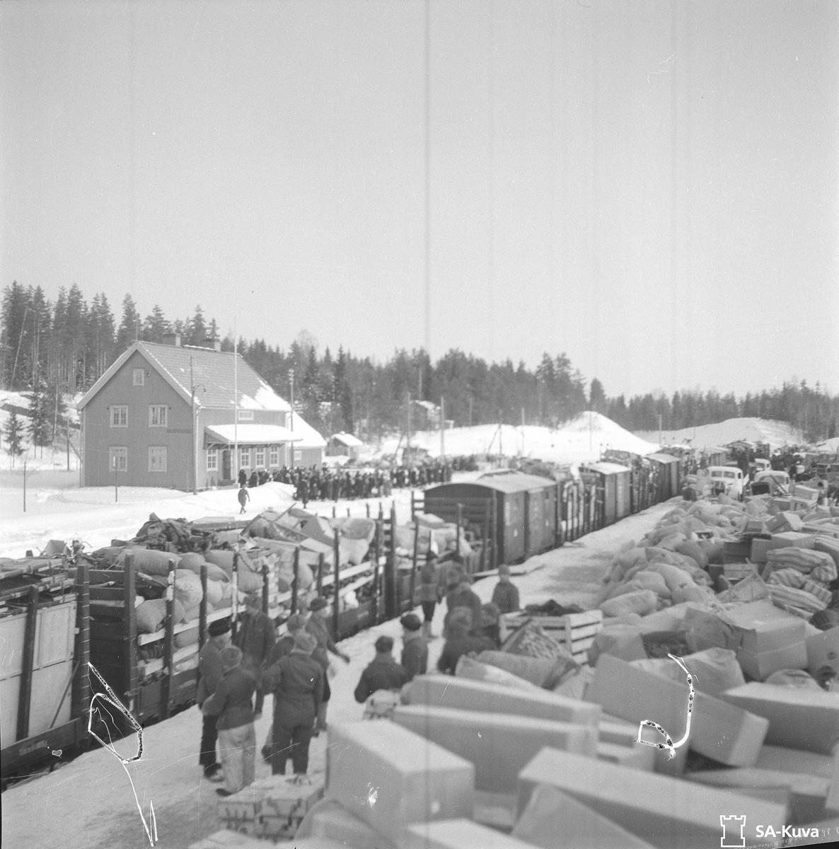 17. maaliskuuta 1940. Huuhanmäen asema