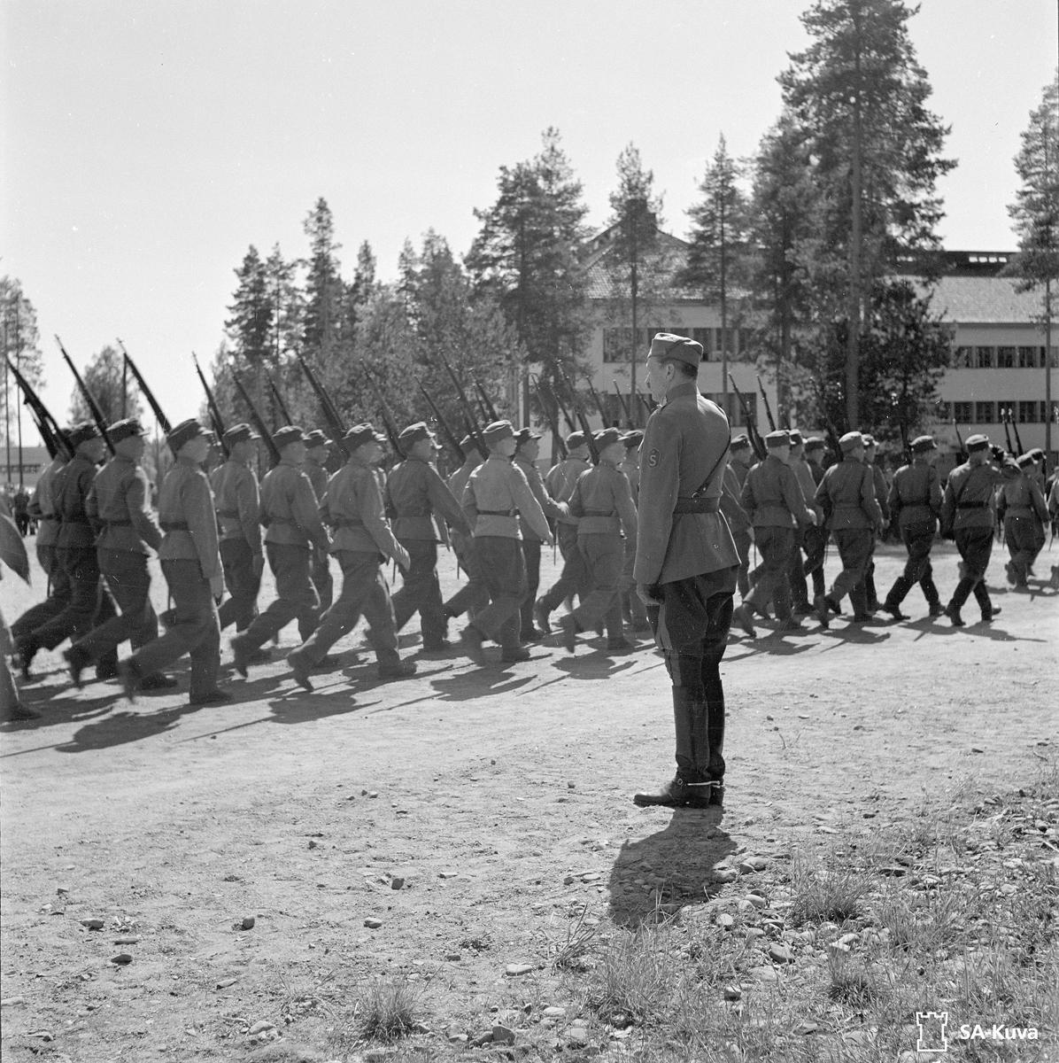 30 мая 1943 года. Маннергейм в Хууханмяки
