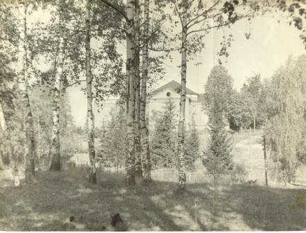 1960's. Jaakkima. Lutheran church