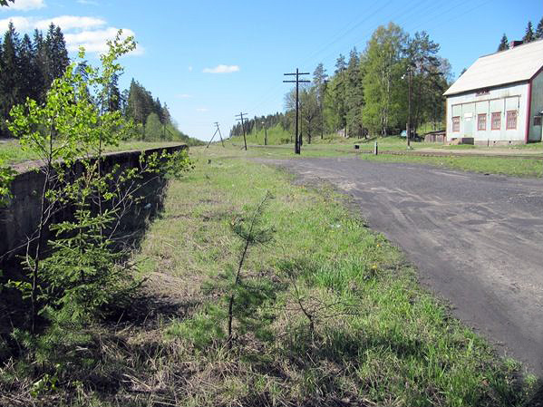 May 23, 2012. Huuhanmäki Railway Station