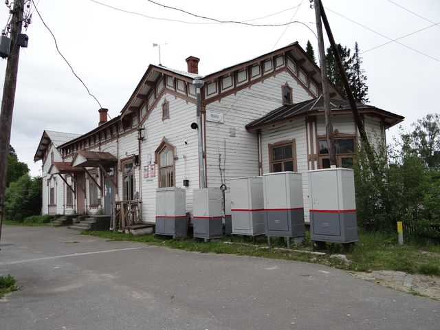 June 18, 2015. Jaakkima Railway Station