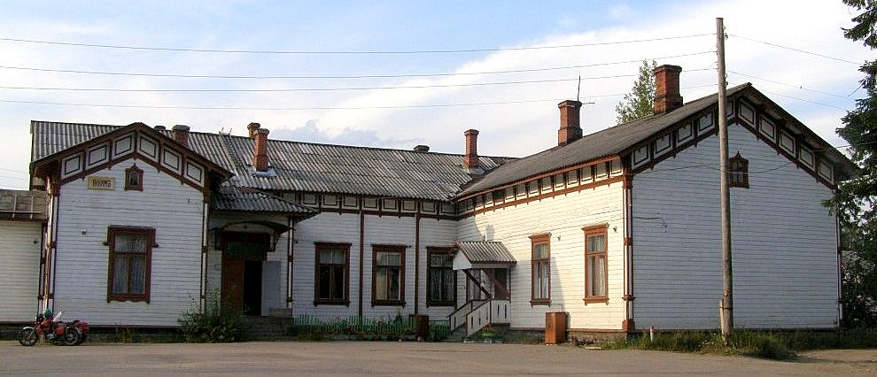 August 16, 2007. Jaakkima Railway Station