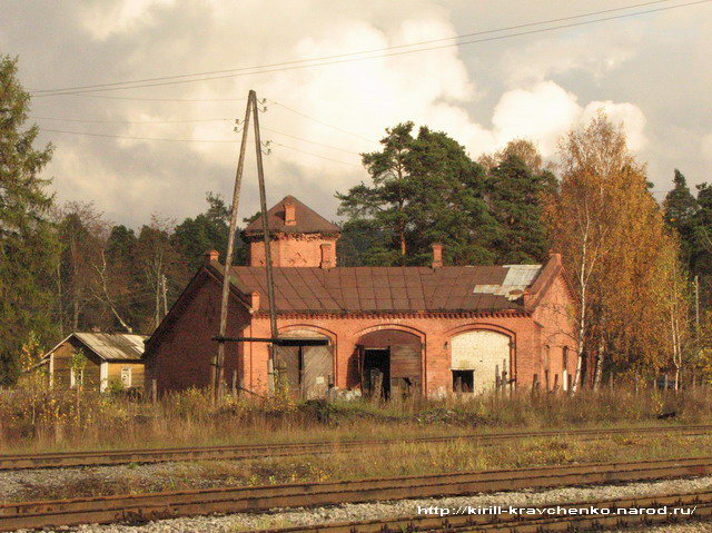 October 7, 2007. Jaakkima Railway Station