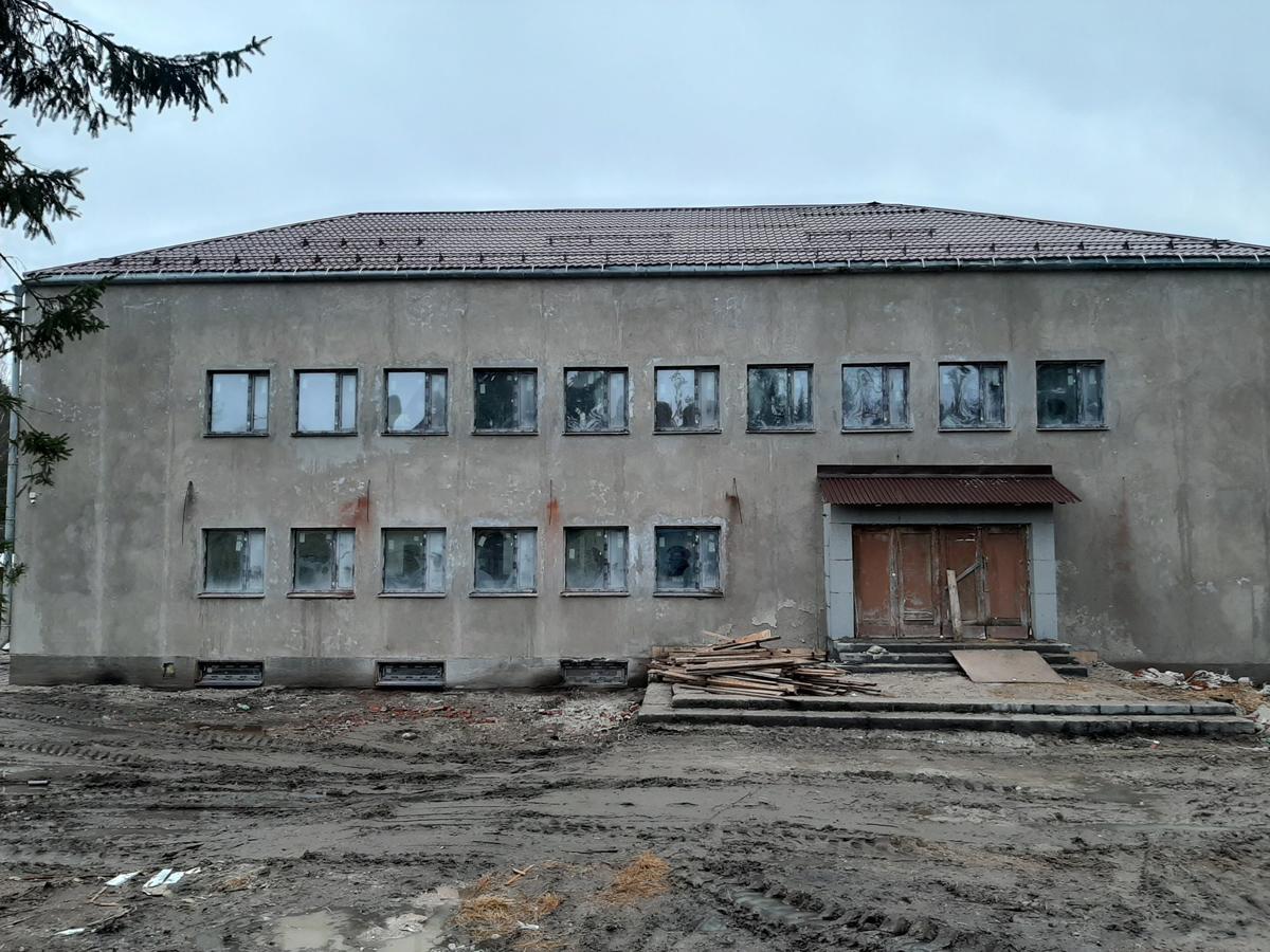 January 17, 2020. Jaakkima. Former commune office