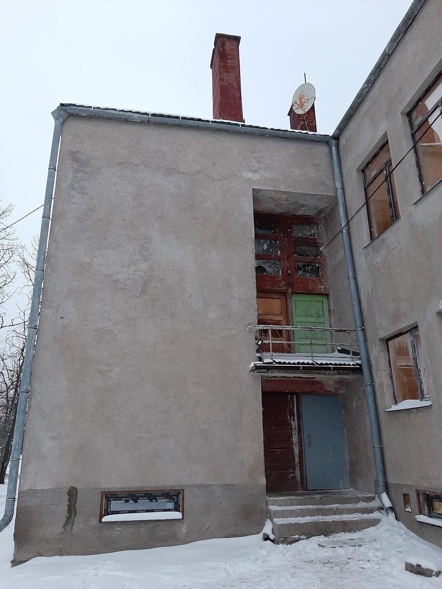 February 2, 2020. Jaakkima. Former commune office