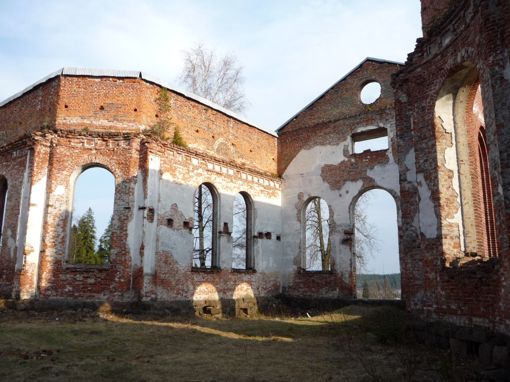 May 2010. Ruins of the church