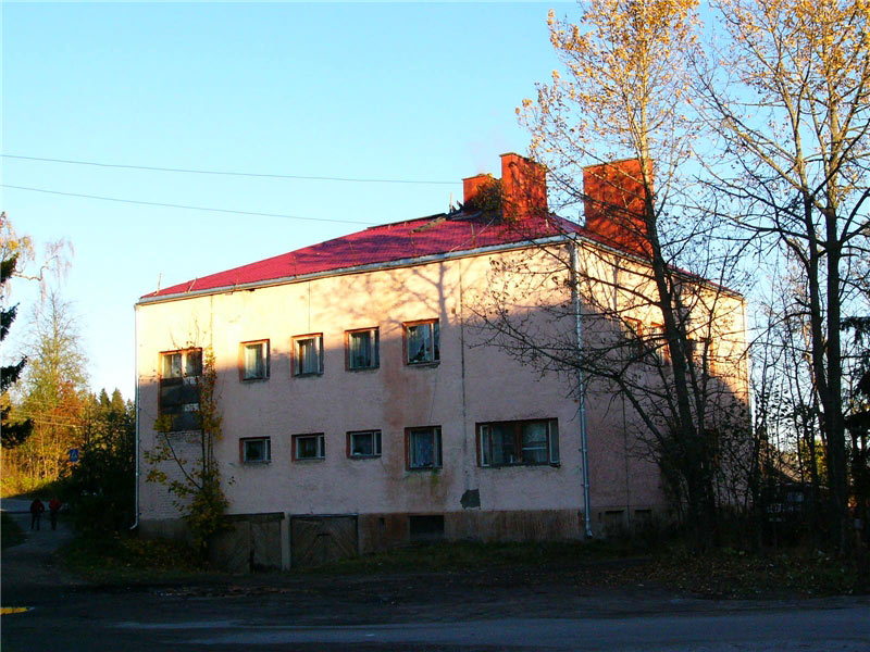 Late 2000's. Jaakkima. Former commune office
