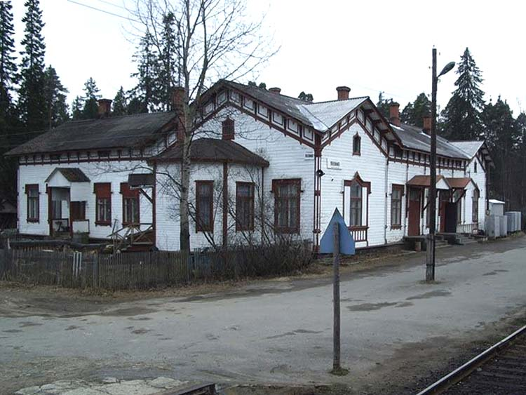 May 8, 2005. Jaakkima Railway Station