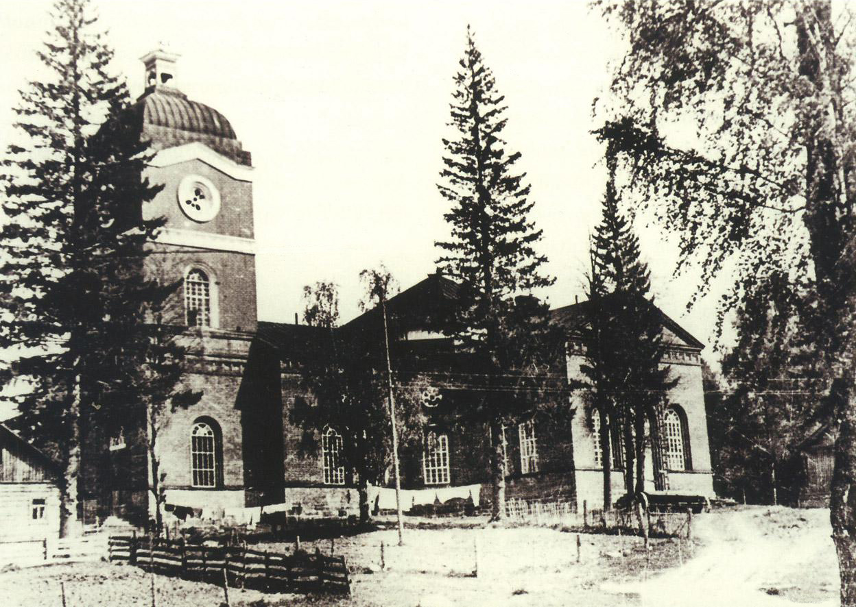 1950's. Jaakkima. Lutheran church