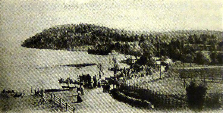 1920-luvun alussa. Lahdenpohja