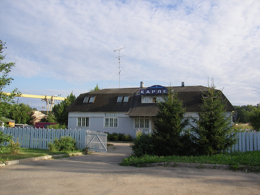 July 31, 2010. The Hotel Karlen (former railway station)