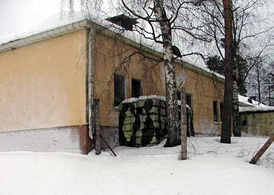 January 2002. Huuhanmäki. Commandant's office