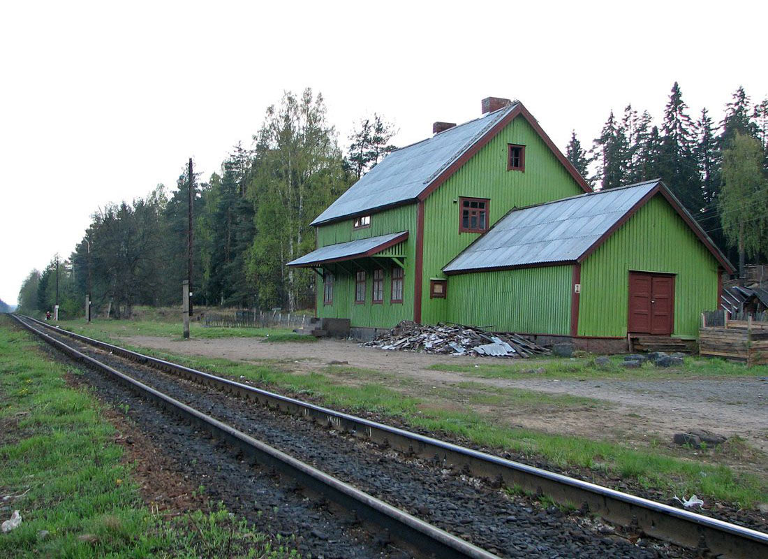May 21, 2006. Huuhanmäki Railway Station