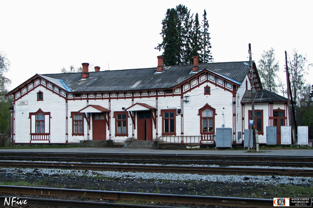 May 21, 2006. Jaakkima Railway Station