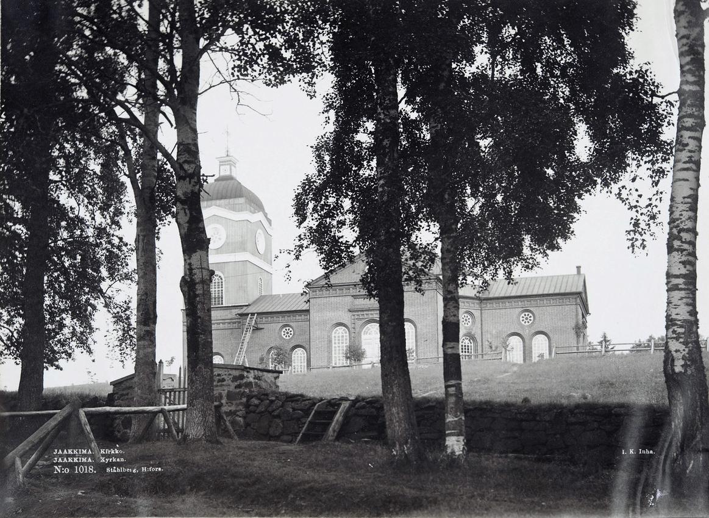 1895. Jaakkima. Luterilainen kirkko