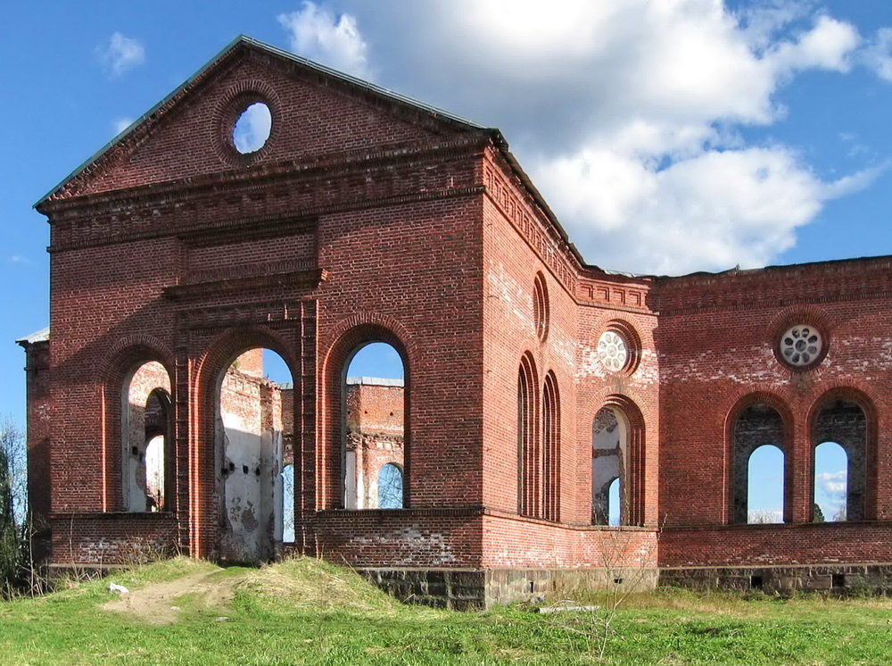 2000's. Ruins of the church