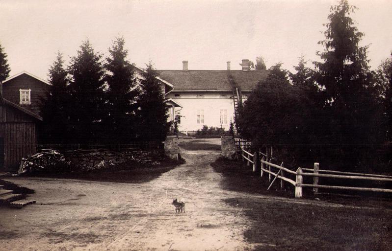 1930's. Jaakkima. Priest house